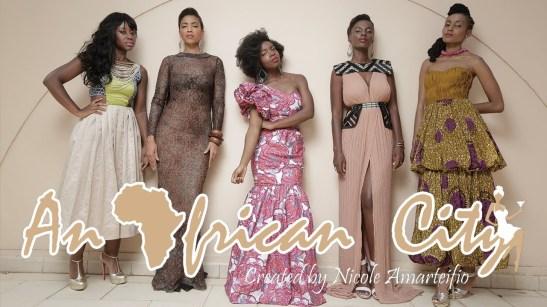 An african city
